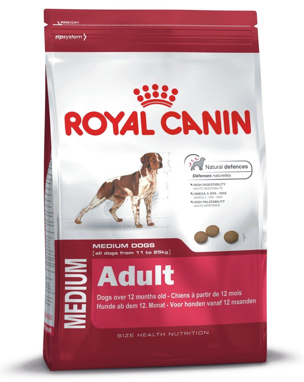 royal canin medium adult 25 dog food. Black Bedroom Furniture Sets. Home Design Ideas