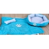 Light Blue Pet Bed Set