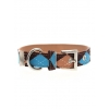 Brown & Blue Argyle Collar 2