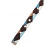 Brown & Blue Argyle Collar 4