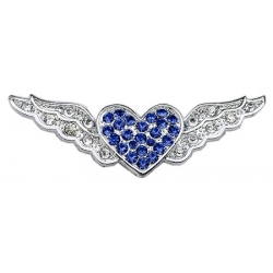 blue aviator wings