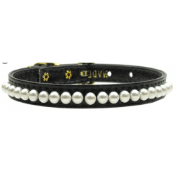 black pearl dog collar