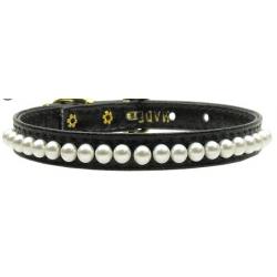 black pearl dog collar
