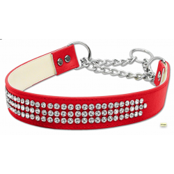 diamante martingale dog collar