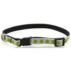 Shamrock Puppy Collar