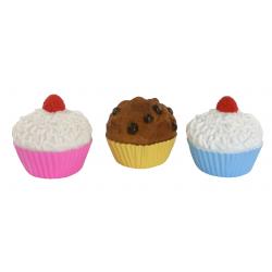 cupcake dog toy