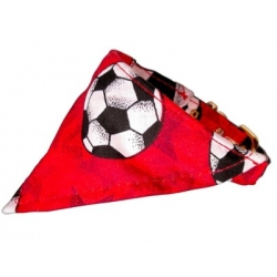 Red Soccer Bandana