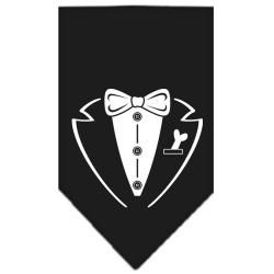 Tuxedo Screen Print Bandana