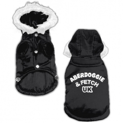 Black Aberdoggie Coat