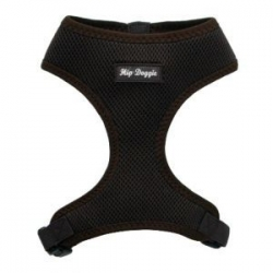 brown dog harness vest
