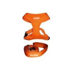 hip doggie orange harness
