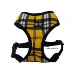 yellow check harness
