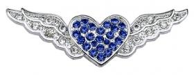 blue aviator wings