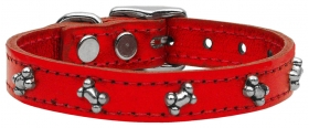 Metalic Red Collar
