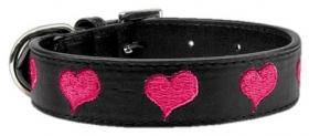 PInk Heart Dog Collar