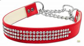diamante martingale dog collar