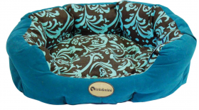 Toto & Mimi Design fabric Dog Bed