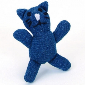 Denim Cat toy