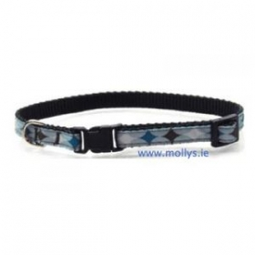 blue diamond cat collar