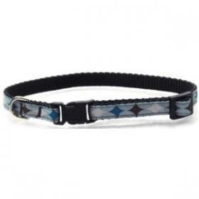 blue puppy collar