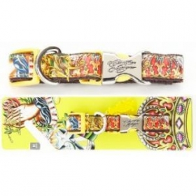 christian audigier faith dog collar