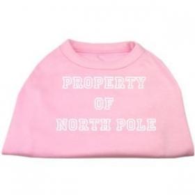 north pole dog shirt