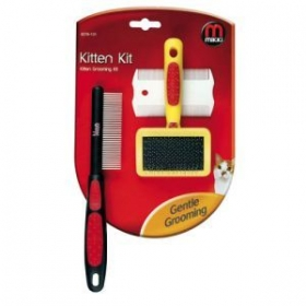 kitten grooming kit