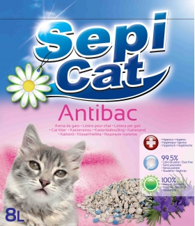 SepiCat AntiBac Litter