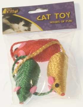 Cat Toy Pk of 3