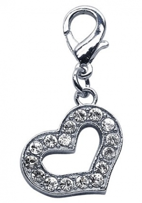 Lobster Claw Heart Charm