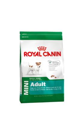 mini adult dog food