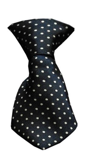 Dog Neck Tie Swiss Dot
