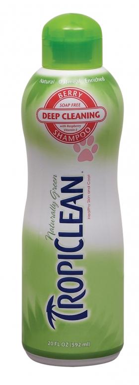 tropiclean berry shampoo